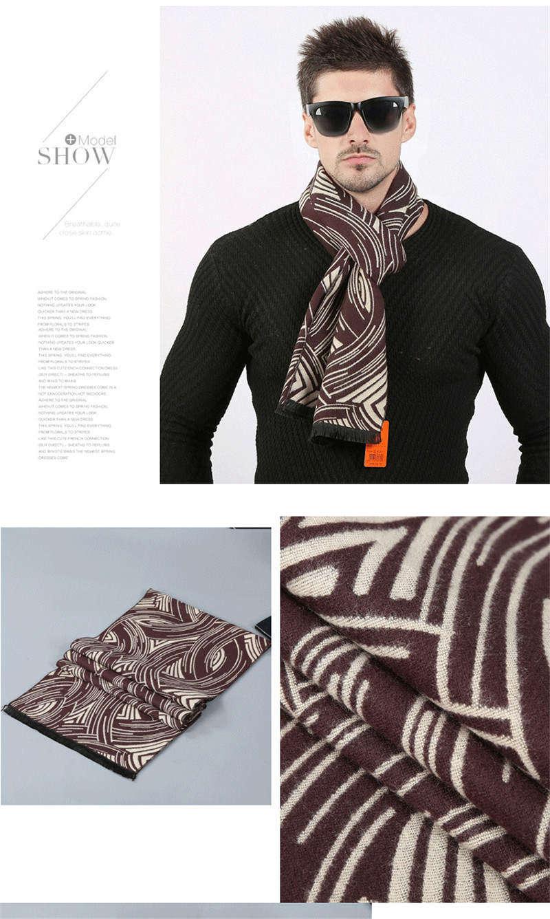 88dee4e64684f Scarves Men'S Winter Warm Scarf Acrylic Cape Cashmere Long Vintage ...