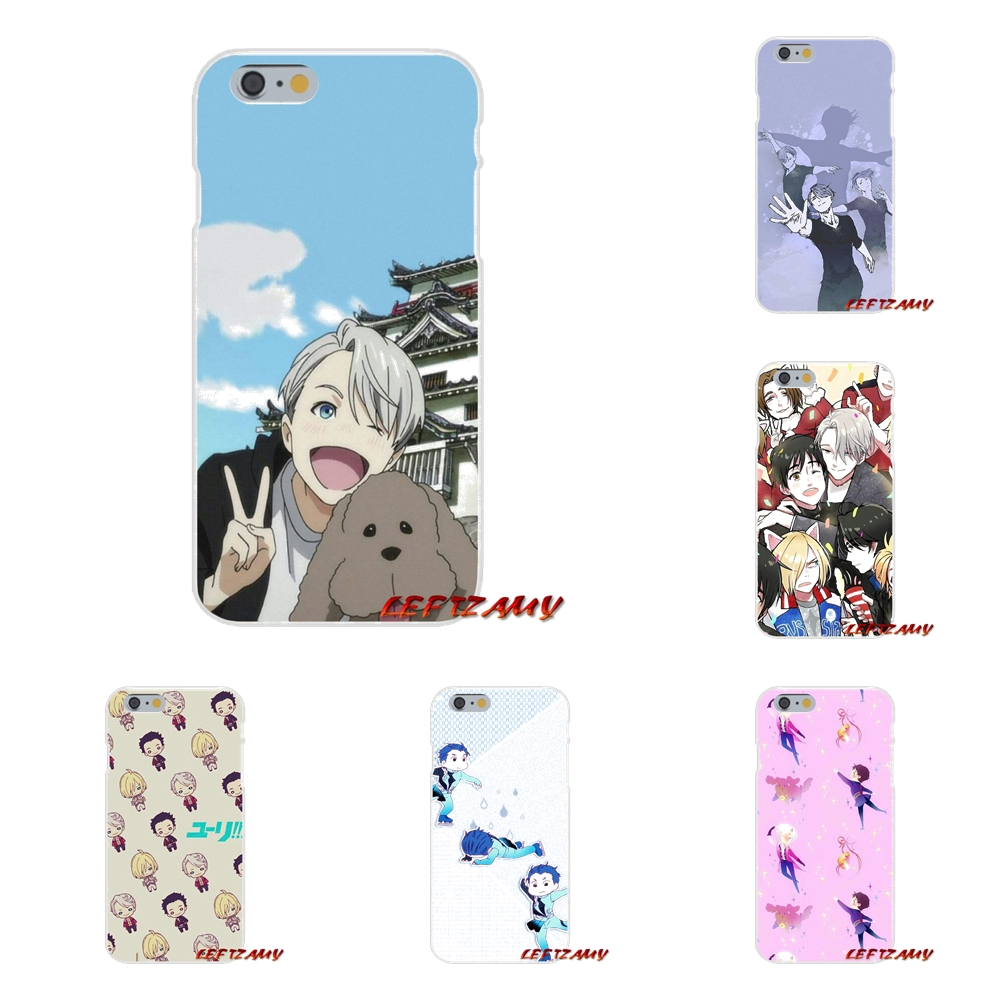 For Samsung Galaxy S3 S4 S5 MINI S6 S7 edge S8 S9 Plus Note 2 3 4 5 8 Accessories Phone Shell Covers animation yuri on ice