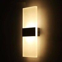 Светодиодный настенный светильник AC110V 220V, освещение для дома, спальни, прикроватная лампа для гостиной, кухни, балкона, прохода, зеркало в ко...