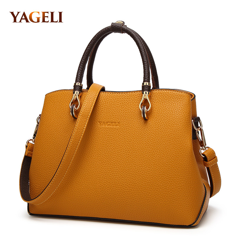 100% genuine leather women's handbags luxury handbags women bags designer famous brands tote bag high quality ladies' hand bags