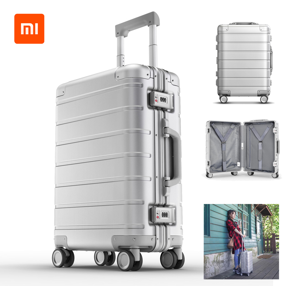 Xiaomi Travel-Suitcase Wheel-Luggage Spinner Carry-On Body-Coded-Lock with Y-Belt Pull-Rod title=