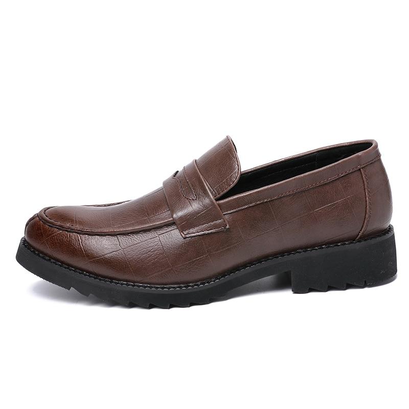 Homens Brogue Dxkzmcm marrom Handmade Oxfords Sapatos Negócios Vestido Preto De Couro Festa Formais Casamento qPqrn5OH