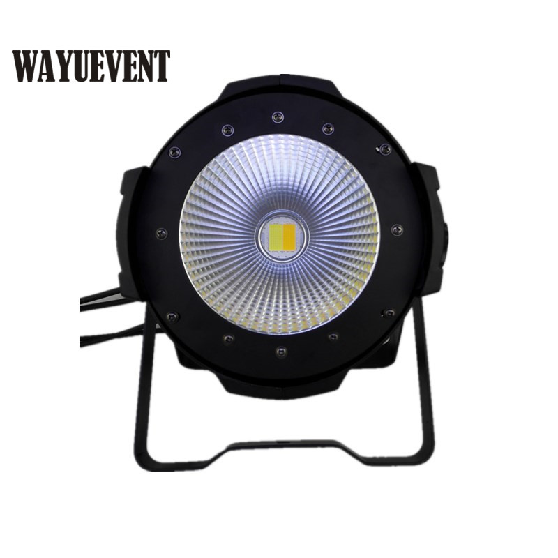 2 pcs LED COB Parcan 100W RGBW COB Par Light High Power Aluminium DJ DMX512 Led Beam Wash Strobe Effect Stage Lighting 4pcs lot 100w cob led par can 4in1 rgbw color dmx 100w cob led par led dmx wash stage light ktv dj disco lighting free shipping