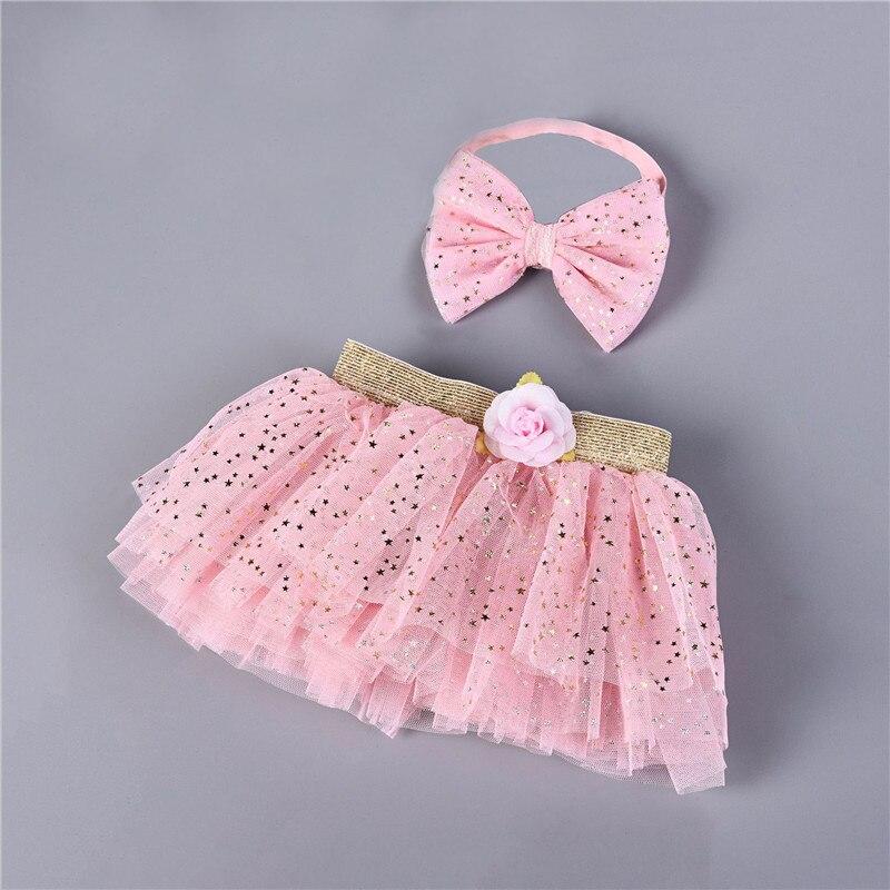 62a9c6ae2 0-2Y bebé Grils faldas TUTU Infantil Niño ropa de lentejuelas tul falda  chicas unicornio diadema ...