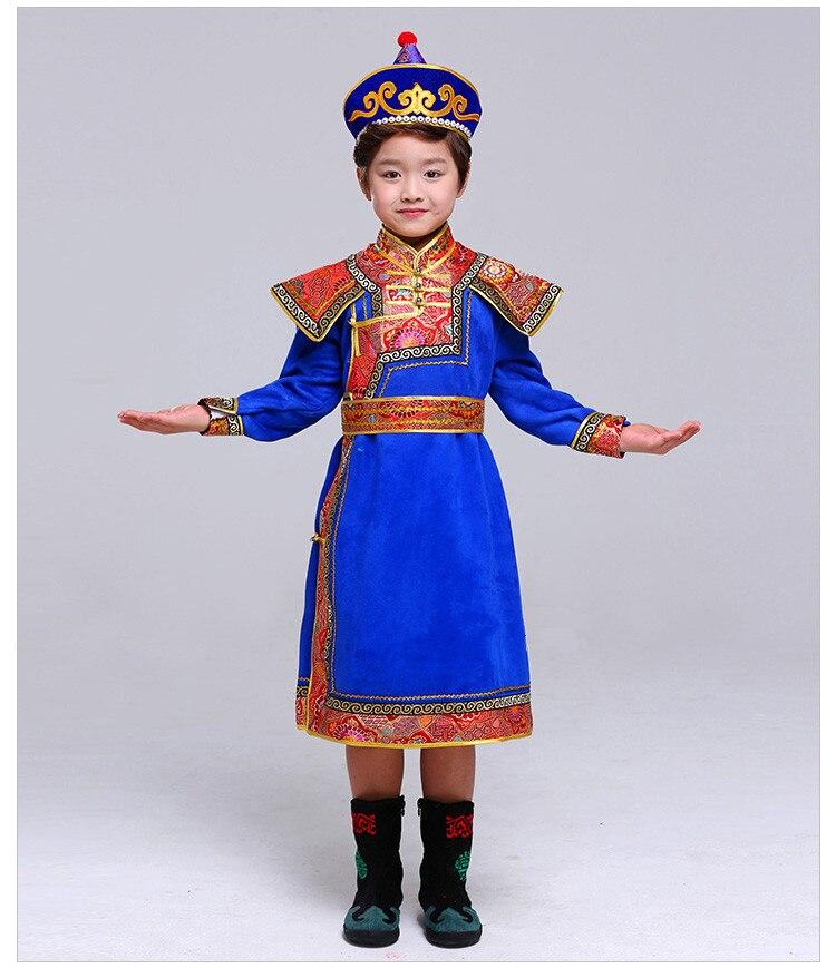 cd85afd109644 ᐂ3 ألوان منغوليا الملابس للأطفال منغوليا الملابس الأطفال الوطني ...