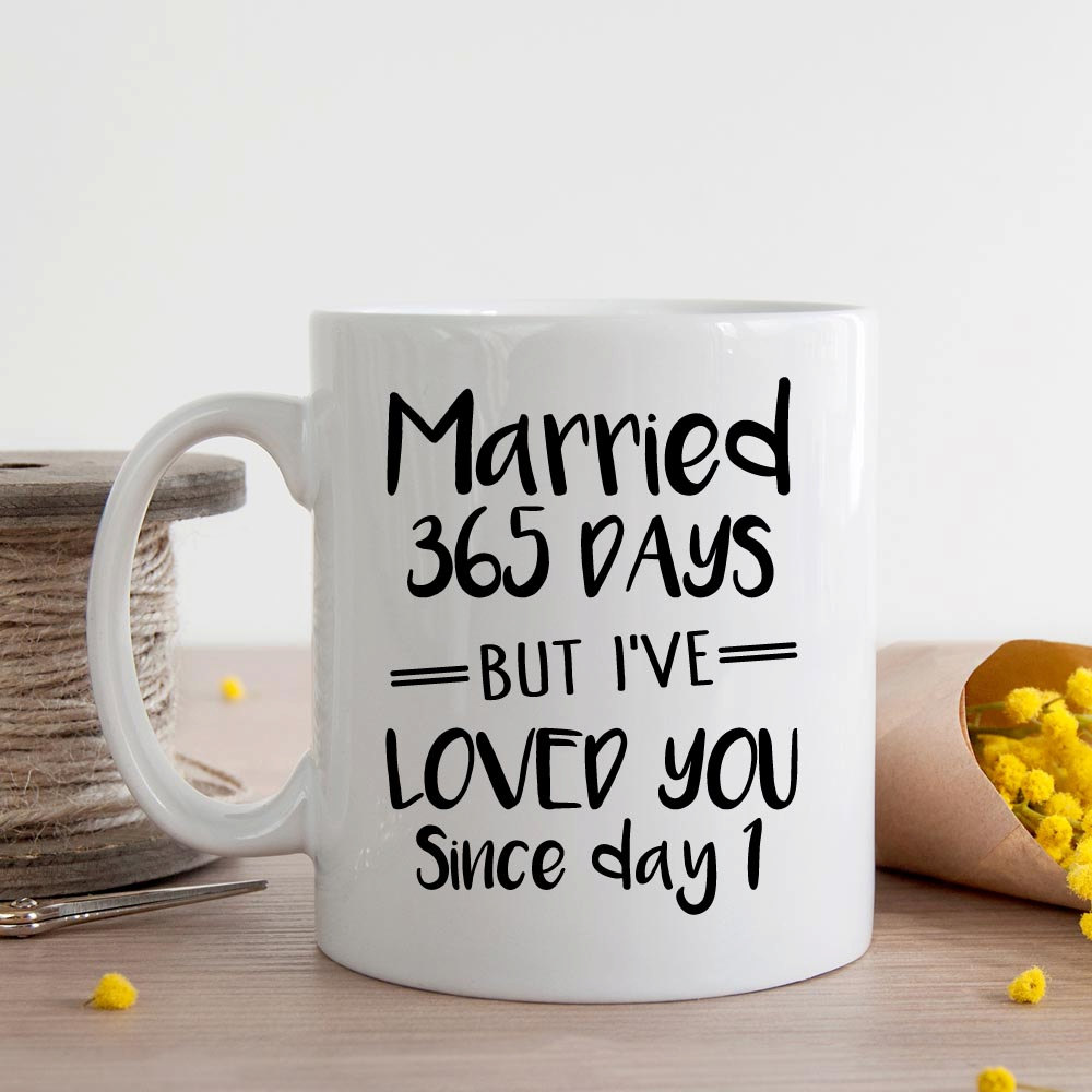 1st Wedding Anniversary Gifts Him: First Wedding Anniversary Mugs Beer Cup Coffee Mug Ceramic