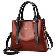 PU Trend Big Bag Patent Leather Ladies Handbag Cross Country Shoulder Messenger Polyester 2019 Summer New Womens