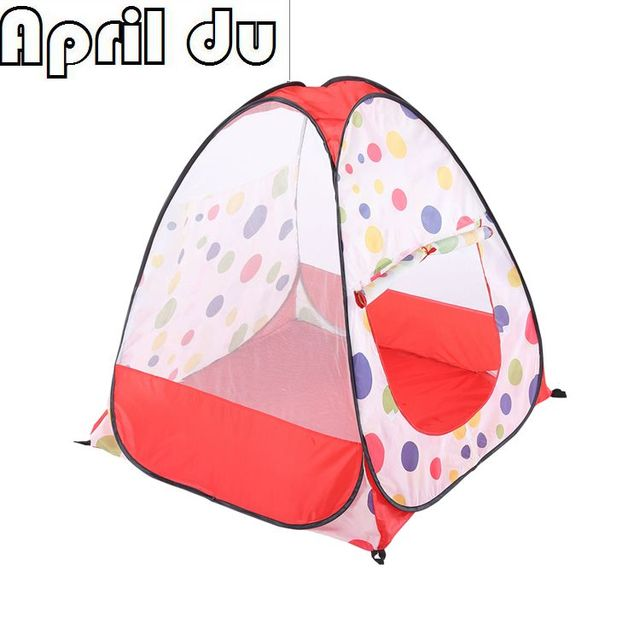 1pcs High Quality Baby Color dotted yarn Castle Outdoor crawling toy game house Outdoor Toy Tents  sc 1 st  AliExpress.com & 1pcs High Quality Baby Color dotted yarn Castle Outdoor crawling ...