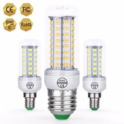 CanLing E27 Led Corn Bulb E14 Bombillas LED 3W 220V Led Lamp Candle Lights Bulb GU10 5730 SMD 36 48 56 69 72leds Ampoule Home