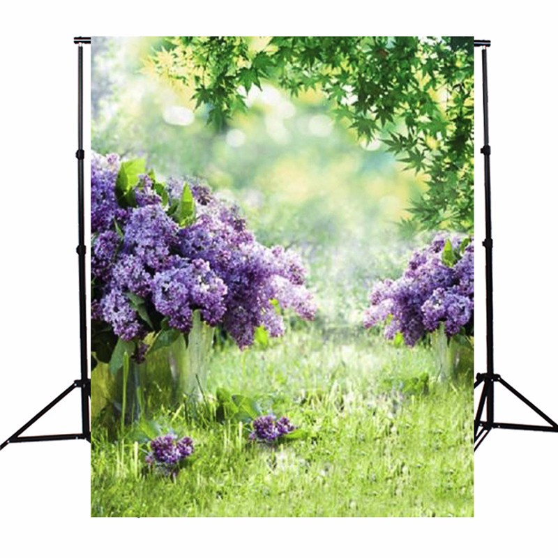 3x5ft Vinyl Photography Background Spring Outdoor Flowers Photographic Backdrops For Studio Photo Props Cloth 1x1.5m 10x10ft photography background for studio photo props european style rome column flowers indoor photographic backdrops