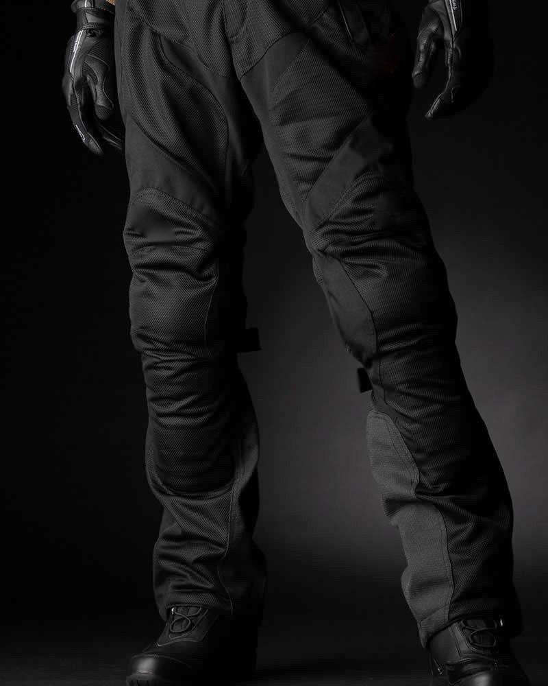 Men's Motorcycle  Riding Air Flow Mesh Protective  Pants