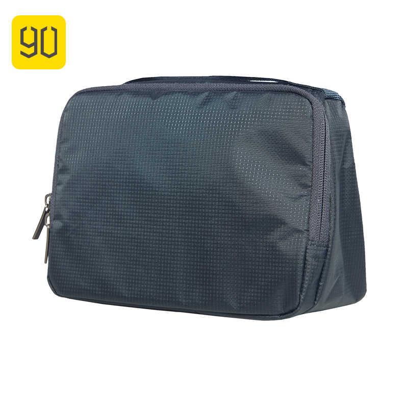 NINETYGO 90FUN maquillaje de bolsa de lavado portátil impermeable organizador artículos de tocador y cosméticos kit equipaje viaje accesorios para vacación