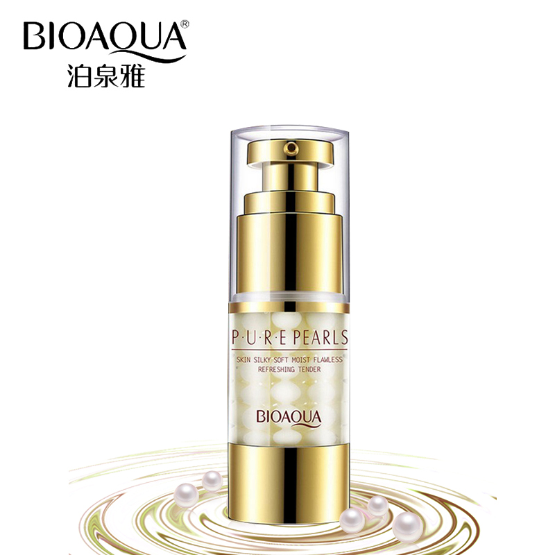 BIOAQUA Brand Eye Cream Pure Pear Lift Firming Eye Essence Anti-Puffiness Moisturizing Dark Circle Lifting Treatment Skin Care