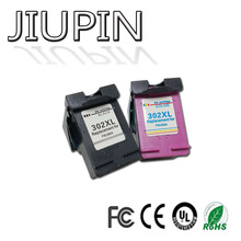 JIUPIN 302XL Refill Ink cartridge replacement for hp302 for HP 302 xl for Deskjet 1111 1112 2130 2135 1110 3630 3632 3830 цены онлайн