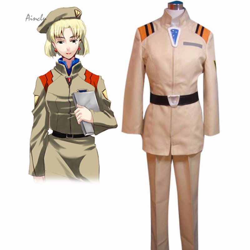 Ainclu Free Shipping Adult Kid Neon Genesis Evangelion NERV Uniform Cosplay Costume Anime Costume For Halloween Christmas