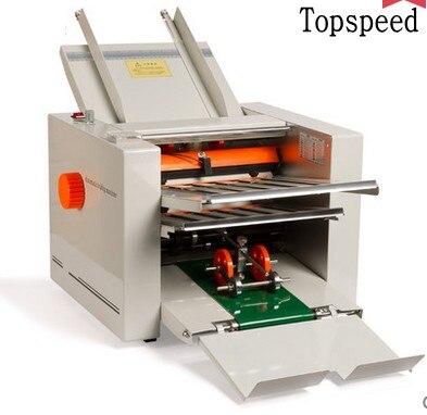 цена 2018 New Automatic Paper folding machine Paper Folder Machine with 4 folding trays 210x620mm
