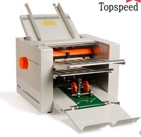 2018 New Automatic Paper folding machine Paper Folder Machine with 4 folding trays 210x620mm