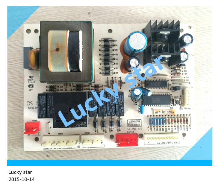 95% new for LG refrigerator computer board circuit board GR-S31NARE/NADE LG-T23-PJT 6871JR1028A 6871JR1028 board good working 95% new for lg refrigerator computer board circuit board gb2 pjt ebr5717720 bcd 236ndq[gr s25ddh] board good working