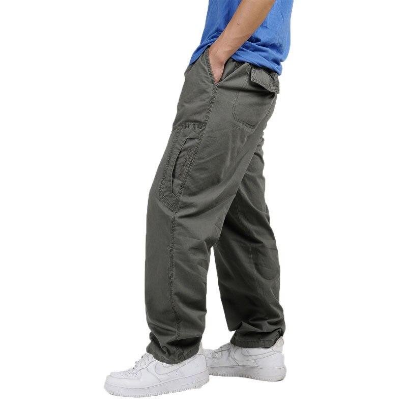 Для мужчин летние повседневные штаны мужские большие размеры 6XL мульти карман Джинсы для женщин oversize Брюки для девочек комбинезоны штаны с ...
