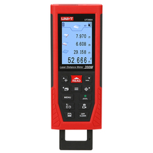 UNI-T UT398A 200M Laser Distance Meter; Color Screen Camera Infrared Measuring Instrument / Electronic Ruler, USB Connection infrared reversing distance indicator electronic contest package electronic skills assessment distribution test
