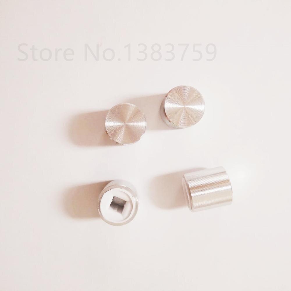 10pcs Square Head Power Switch Key Switch Button Cap 10*10MM Button Cap Knob Square Hole