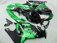 Kits del carenado para Honda CBR 600 f3 95 96 Carenados cbr 600 (negro verde) kit de carenado 1995 & 1996 xl88