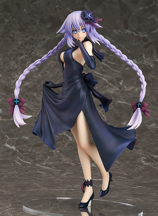 Anime Hyperdimension Neptune Purple Heart Dress Ver. 1/7 Scale Sexy Painted PVC Action Figure Collectible Model Toy 23cm KT3809 to love ru darkness figure lala satalin deviluke maid ver 1 7 complete figure toy collection anime