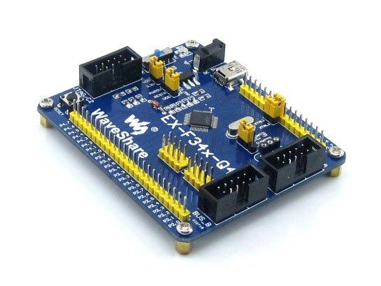 цена на EX-F34x-Q48 Standard # C8051F340 C8051F Development Board 8051 Evaluation Kit Tools Full I/O Expander