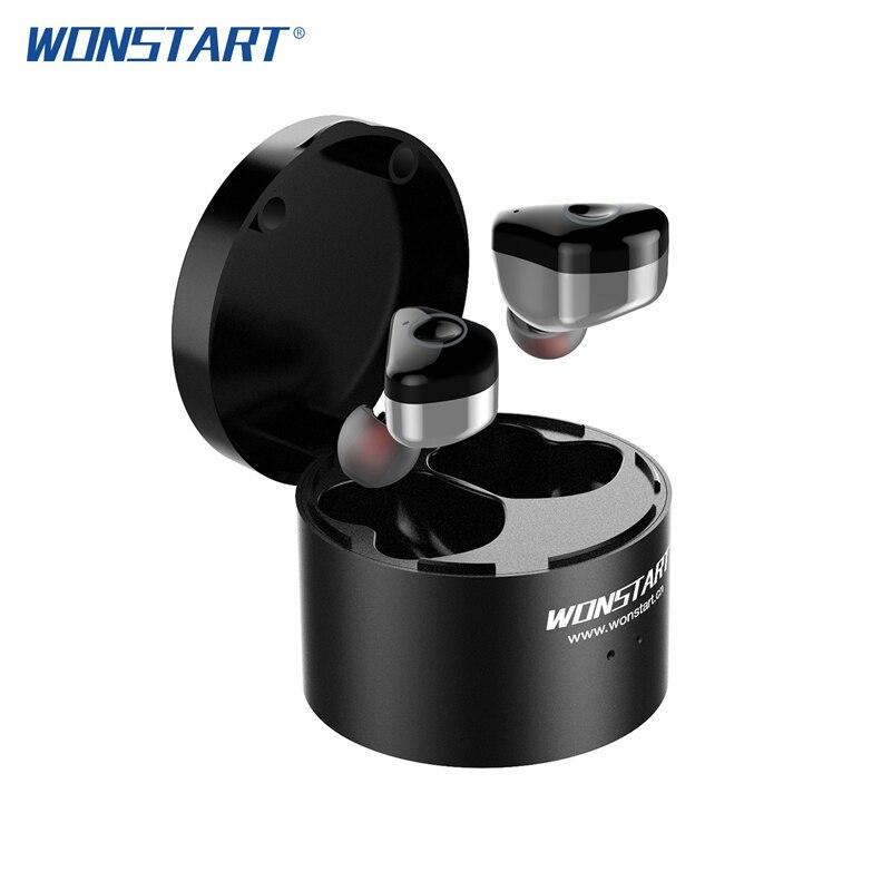 Wonstart W6 TWS Wireless Earbuds Earphones Hot Selling With Touch Control IPX6 Waterproof Stereo Mini Earphones In Ear For Phone