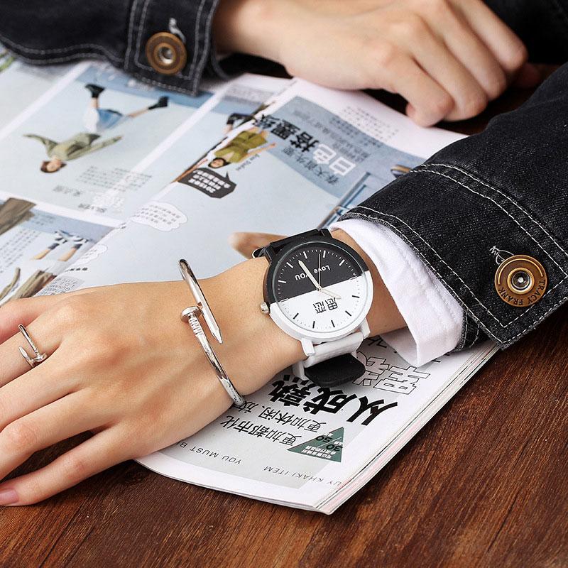 JBRL Casual Lovers Quartz Watch Unisex Couple WristWatch Women Ladies Crown Casual Students Gift Quartz Wrist Watches 2019