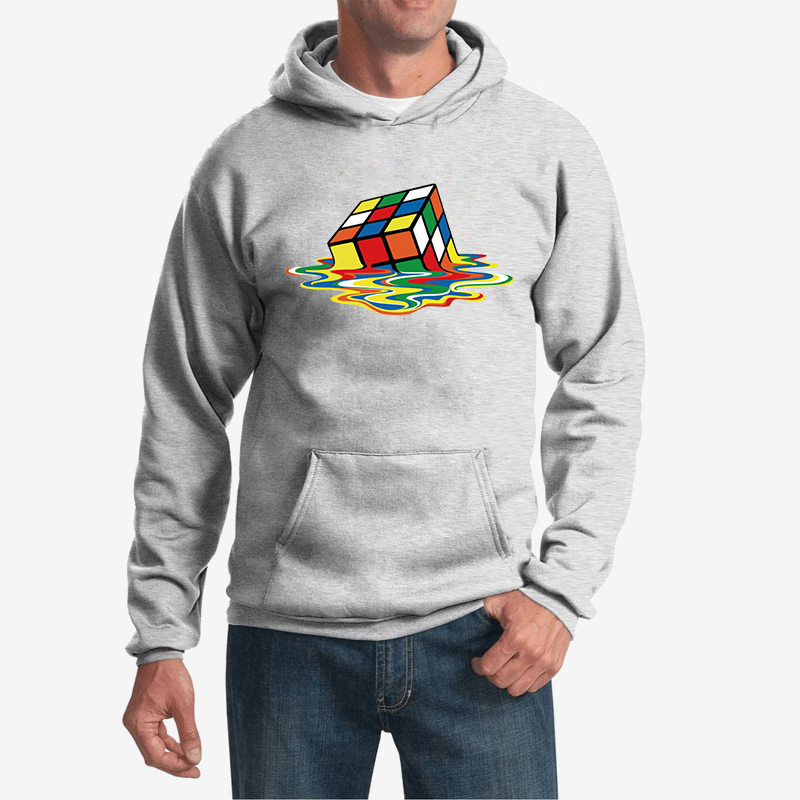 Men's Clothing Reasonable Kyku Brand Rubiks Cube Sweatshirts Men Geometric Hoodes 3d Colorful Hoodie Print Squared Hoody Anime Psychedelic Hooded Casual High Quality Goods