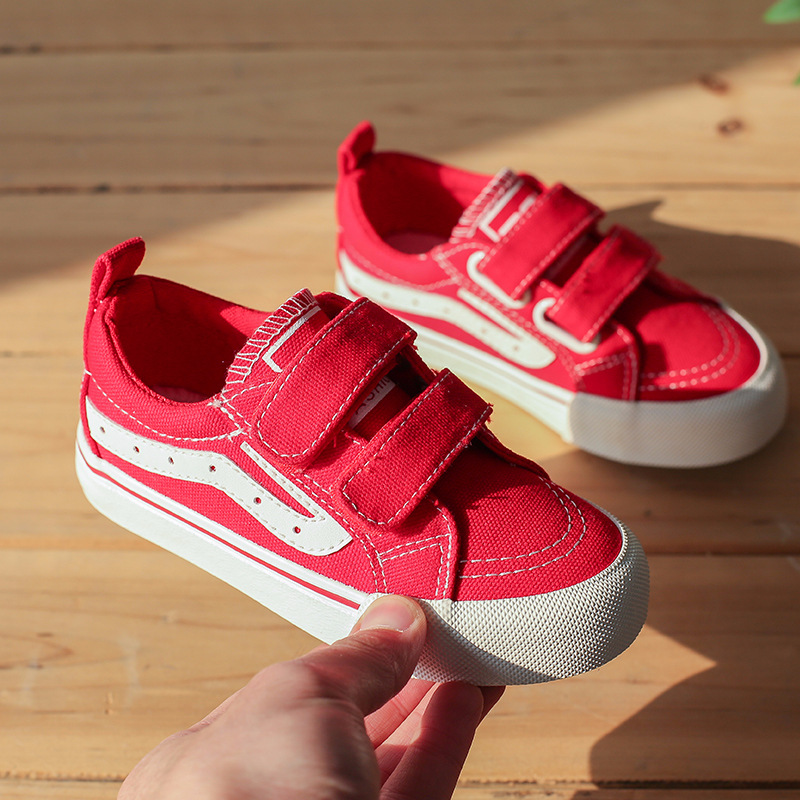 Children Canvas shoes Kids casual loafer tenis kindergarten school Canvas shoes toddlergirl running boy sneakers kinder schoenen