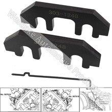Árbol de Levas del motor juego De Calado Distribución Para Ford 3.5L 3.7L 4.0L 4 V Herramienta de Cámara Kit 303-1248