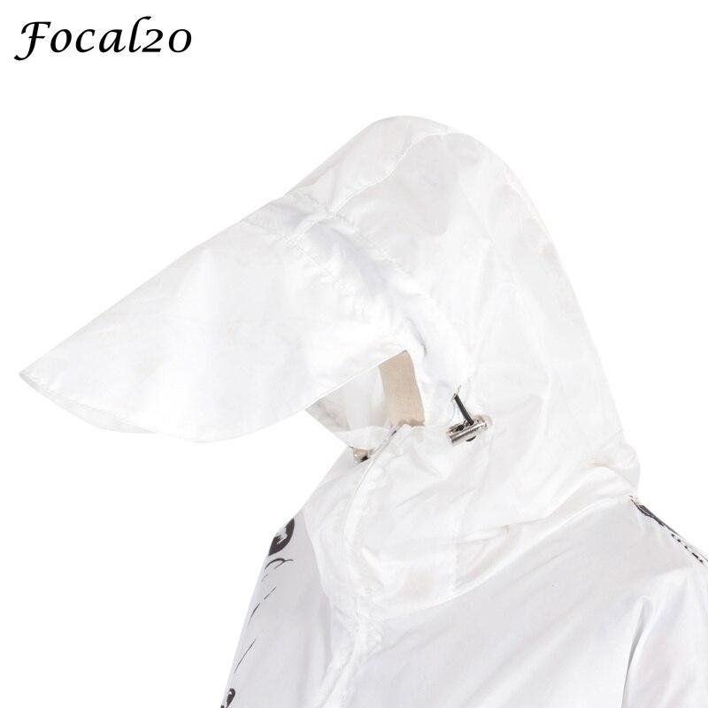 Focal20 Streetwear Junji Itou Manga Print Oversize Women Hooded Jacket Anime Hoodie Pullover Jacket Coat Outwear Streetwear 5