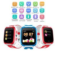 Waterproof Children Smart Watch Digital Baby Smart Watch SOS Emergency Help LBS Positioning Tracker Card Large Capacity Battery