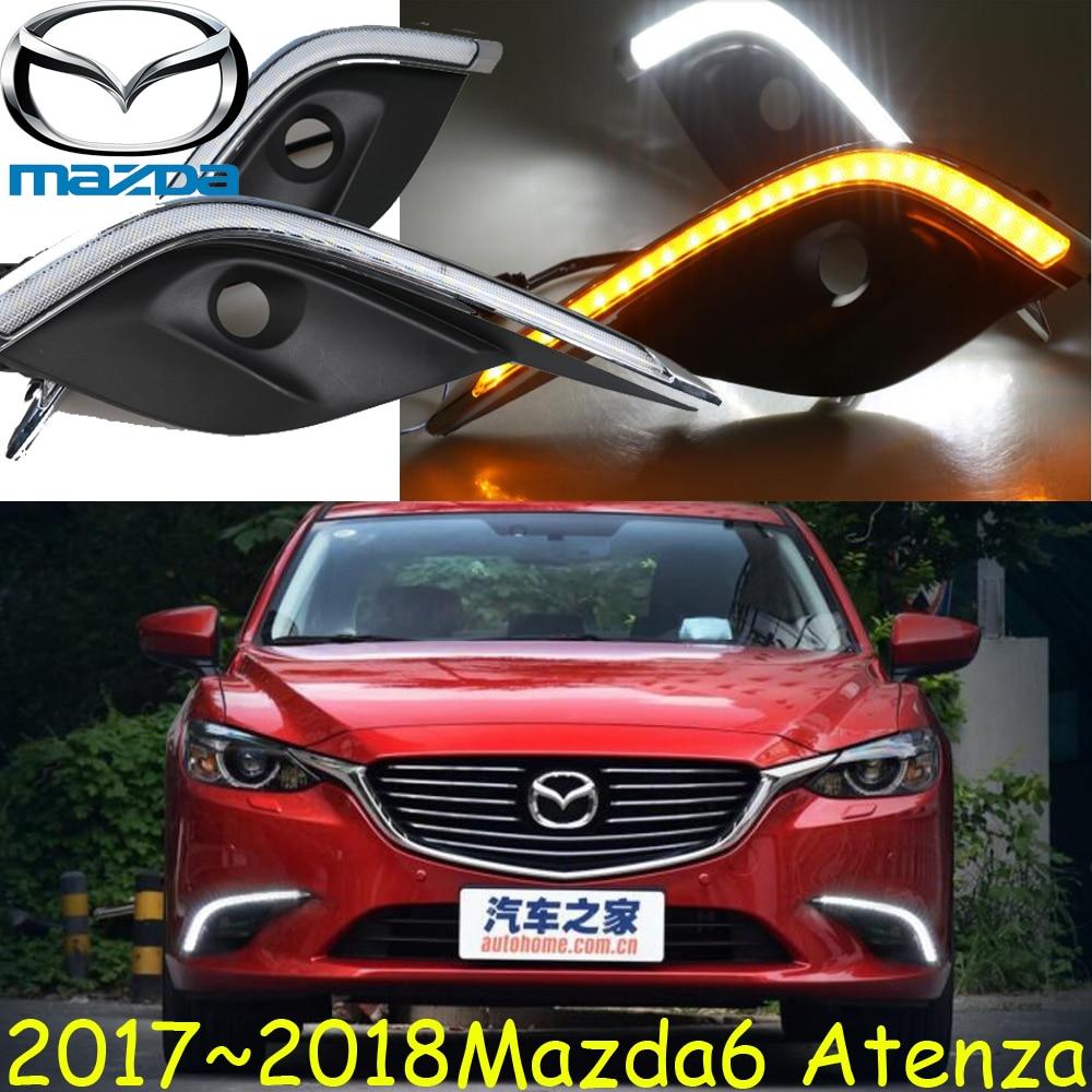 Атенза дневного света,2017 2018 год,автомобиль стиль,Бесплатная доставка!Светодиодные,противотуманные MAZD6 свет,автомобильные чехлы,СХ-5,axela