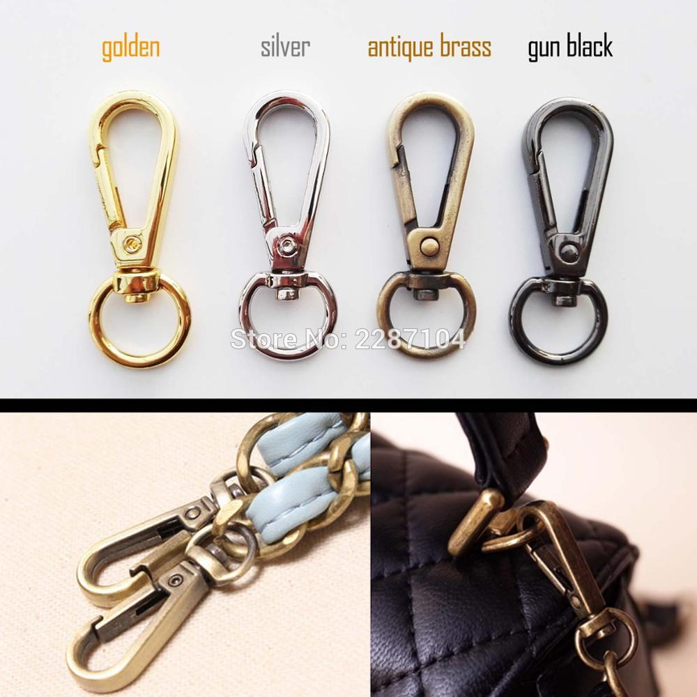 2x Swivel Lobster Keychain Car Key Ring Dog Chain Leather Bag Handbag Purse Shoulder Strap Belt Clasp Clip Trigger Buckle Snap A In Buckles Hooks From