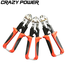 CRAZY POWER Multifunctional Cable Wire Stripper plier Self Adjusting Crimper Tool Cutter Pliers Professional For cut wire