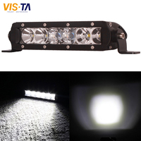 1 PCS 30W Cree Chips LED Work Light Spot Flood Combo Beam 3000LM For Off Road Motorcycle Boat ATV Truck Tractor 4X4 4WD Fog Lamp