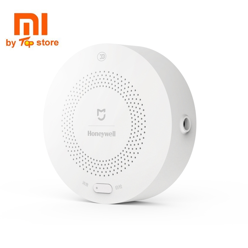 Original Xiaomi Mijia Smart Gas Alarm Remote Control With Xiaomi Mi Gate way 2 Smart Home Guard Set Visual Alarm Notication