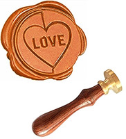 MDLG Love Vintage Custom Picture Logo Luxury Wax Seal Sealing Stamp