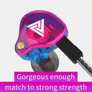 Image 2 - Yeni QKZ VK4 ZST ağır bas kablolu kulaklık kulaklık HiFi kulaklık demir kontrol müzik hareketi değişim Bluetooth kablosu