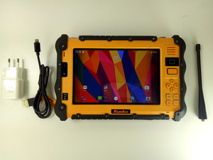"""Image 5 - الصين وعرة الصناعية مقاوم للماء هاتف تابلت الكمبيوتر UHF VHF PTT راديو 7 """"1920x1200 المزدوج سيم أندرويد 5.1 الغبار GNSS لتحديد المواقع الشاحنات"""