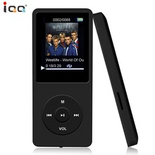 Mini MP3 player IQQ X02 8GB With Built-in Speaker Voice Recorder E-Book Reading FM Radio Photo Viewer, 30 Hours Music Player цена и фото