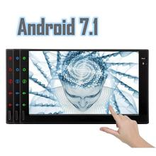 Android 7 1 Car Stereo 2 Din In Dash Bluetooth font b Radio b font Support