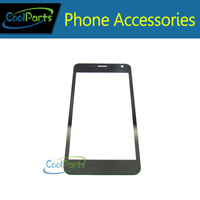 Free Shipping For Fly IQ444 444 Touch Screen Digitizer Front Glass Lens Black Color 1PC Lot
