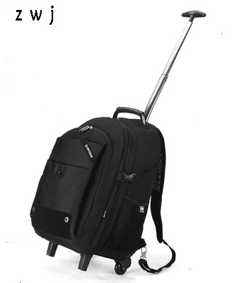 Men s Waterproof Backpack School Bag for quality Laptop Travel Duffle Male Large Travel Trolley Bag