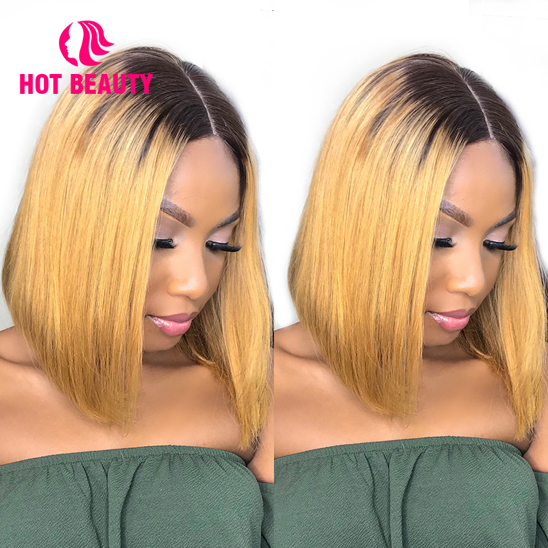 Hot Hair Hair Glueless Lace Μπροστά Αντρικά - Ανθρώπινα μαλλιά (για μαύρο) - Φωτογραφία 2