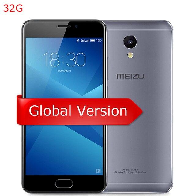 Meizu M5 NOTE 5 32ГБ Мировая версия М621Н 5.5 дюймов 1080Р Helio P 10 Восьмиядерный, 3ГБ ОЗУ, Графический Процессор, 13МП камера, 4000мА, mTouch, мобильный телефон