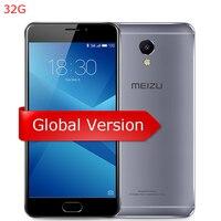 Meizu M5 NOTE 5 32GB Global version M621H 5.5 inch 1080P Helio P10 Octa core 3GB RAM GPU 13MP camera 4000mAh mTouch mobile phone